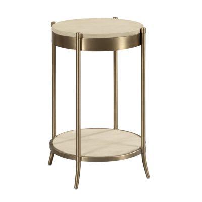 American Drew Lenox Beige Martini Table