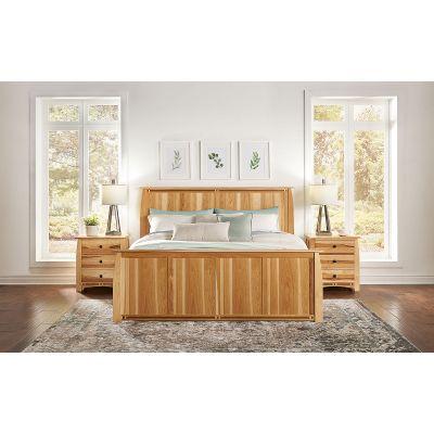 Adamstown Natural Panel Bed