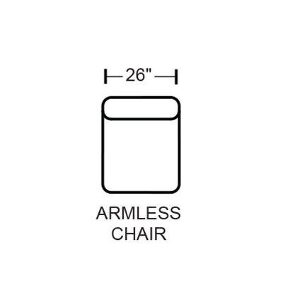 Denali 4378-31 Armless Chair