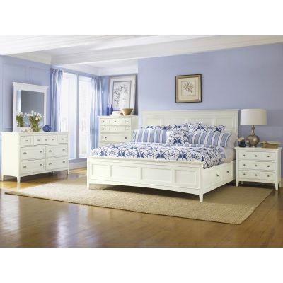 Kentwood Creamy White Panel bedroom Set