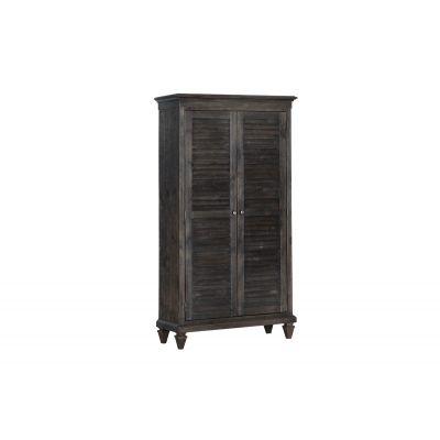 Calistoga Charcoal Bedroom Wardrobe