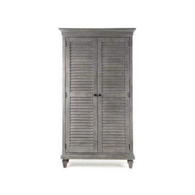 Lancaster Dovetail Grey Wardrobe