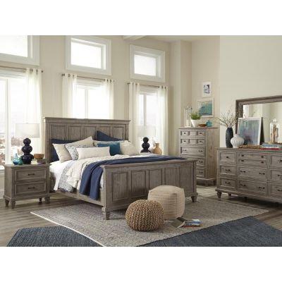 Lancaster Dovetail Grey Panel Bedroom Set