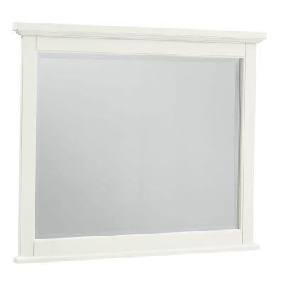 Vaughan Bassett Bonanza Landscape Mirror in White