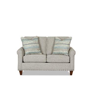 Bennington Two Seater Loveseat in Dove Grey