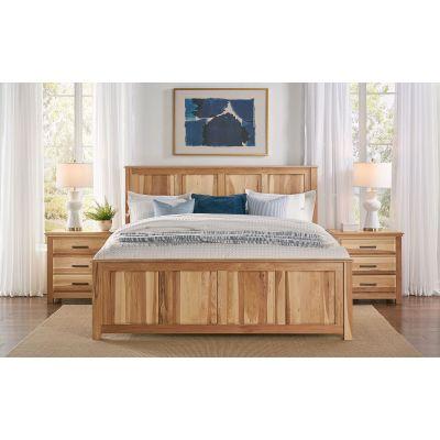 Camas Natural Panel Bed