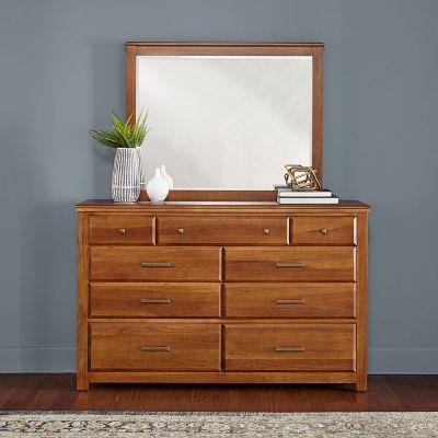 A-American Camas Nine Drawer Dresser