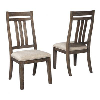 Wyndahl Upholestered Dining Room Side Chair Set of 2 Upper Saddle River