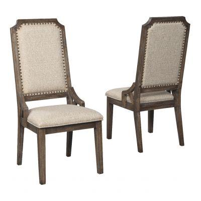 Wyndahl Upholestered Dining Room Side Chair Set Ridgewood