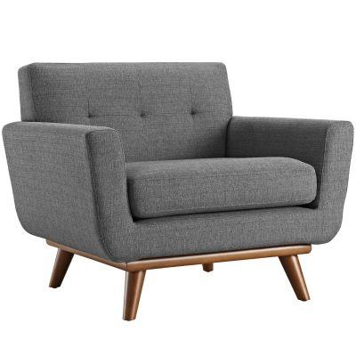 Tufani Upholstered Fabric Armchair