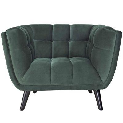 Bistra Performance Velvet Armchair