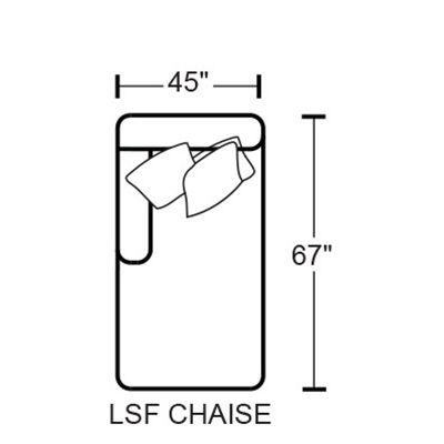 Denali 4378-75 LSF Chaise