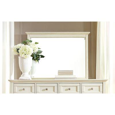 A-America Northlake White Dresser Mirror