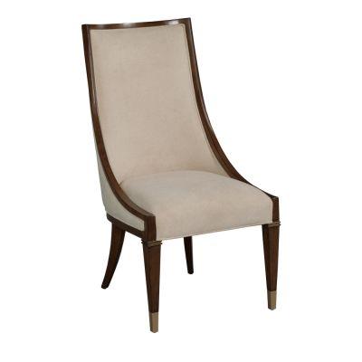 American Drew Vantage Walnut Veneers Cumberland Dining Chair