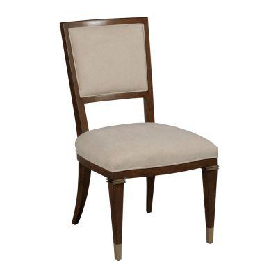 American Drew Vantage Walnut Veneers Bartlett Side Chair