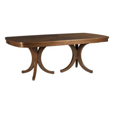 American Drew Vantage Walnut Veneers Randolph Dining Table