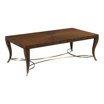 American Drew Vantage Walnut Veneers Coffee Table