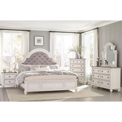 Baylesford Antique White Bedroom Set