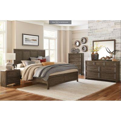 Seldovia Brown Gray Bedroom Set