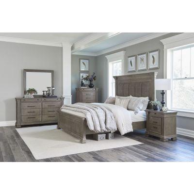 Lafollette Brown Gray Bedroom Set
