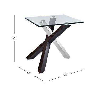 Verge Rectangular End Table