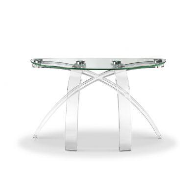 Cassius Demilune Sofa Table Rutherford