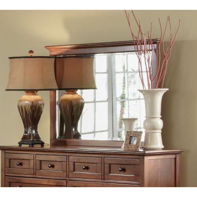 A-America Westlake Cherry Brown Master Dresser Mirror